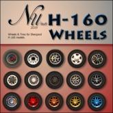 H-160 Wheel Kit for MP v1.1