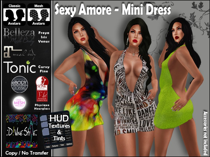 :: D!vine Style :: Sexy Amore - Mini Dress