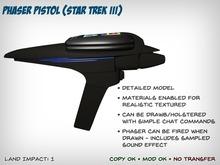 Phaser Pistol (Star Trek III)