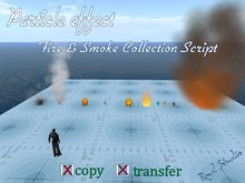 Particle Fire effect & Smoke Collection Script