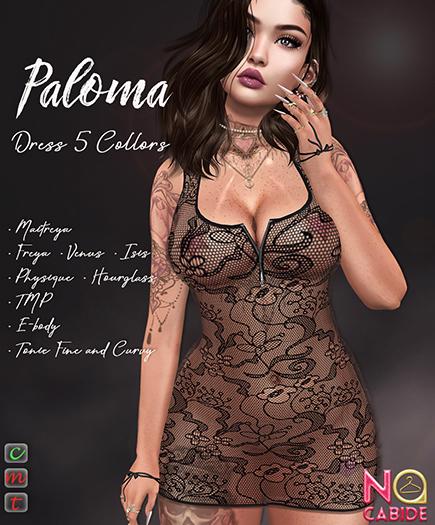 No Cabide :: Paloma Dress - HUD 5 Models