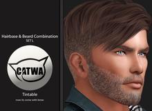 [X-Star] SET L - Hairbase & Beard Combination - Catwa