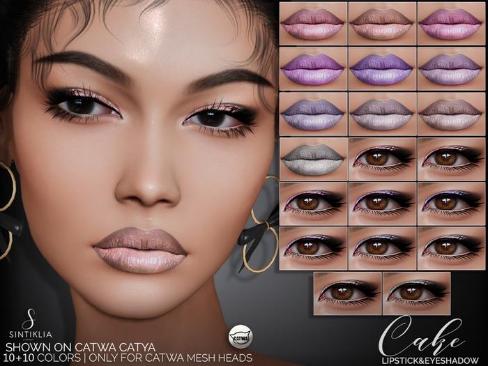 Sintiklia. - Lipstick&eyeshadow Cake(CATWA)