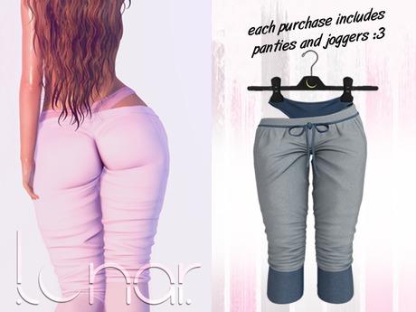 Lunar - Luna Pants & Panties - Mirage Blue