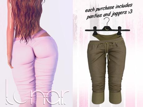 Lunar - Luna Pants & Panties - Khaki (Boxed)
