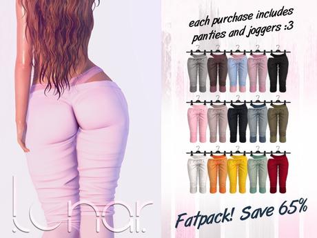 Lunar - Luna Pants & Panties - FATPACK