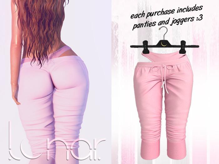 Lunar - Luna Pants & Panties - Bubblegum Pink