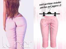 Lunar - Luna Pants & Panties - Bubblegum Pink (Boxed)