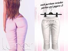 Lunar - Luna Pants & Panties - White