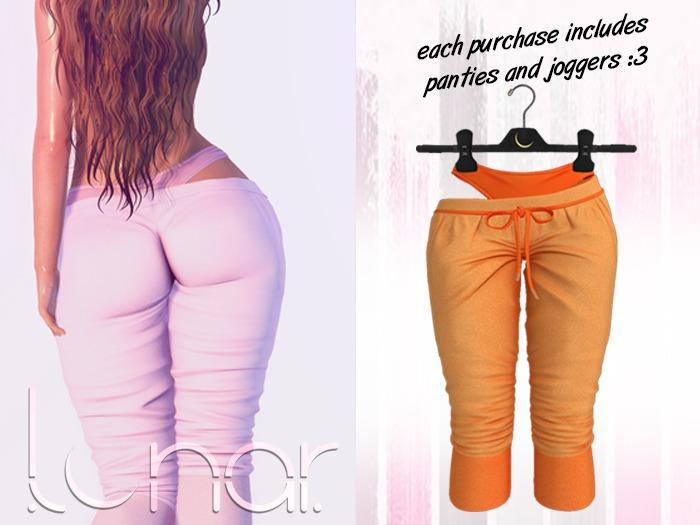 Lunar - Luna Pants & Panties - Tangerine
