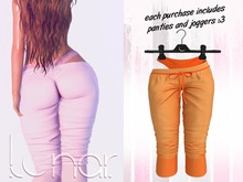 Lunar - Luna Pants & Panties - Tangerine (Boxed)
