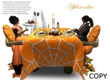 """Sweet pumpkin"" Halloween animated romantic table (boxed)"