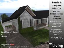 Blushed Living - Adams Porch and Carport