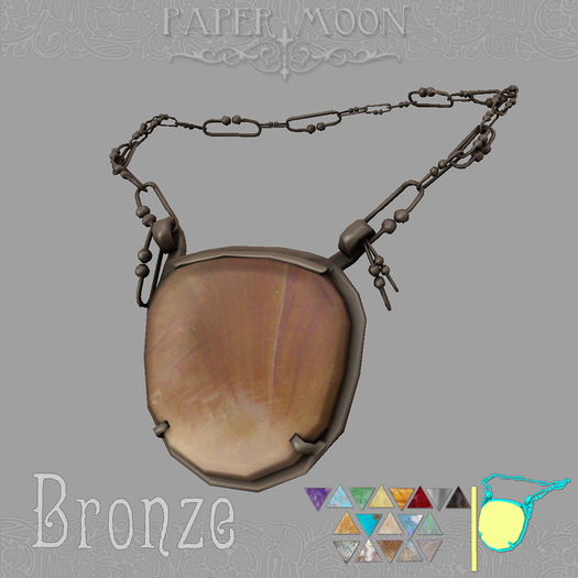 *pm* Necklace of Da'at - Bronze