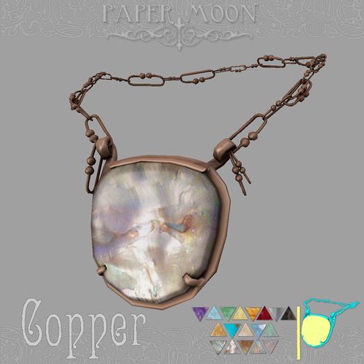 *pm* Necklace of Da'at - Copper