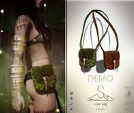 [sYs] LEAF bag (Rigged & Unrigged mesh) - DEMO