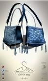[sYs] GYPSY bag (Rigged & Unrigged mesh) - blue