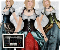 *{Junbug}* Mayfly Gown All Colours w/HUD