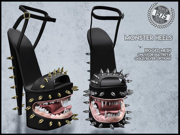 [Since1975] Monster heels