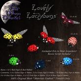 The Half Moon Market - Lovely Ladybugs - 07 - Steel Blue Flyer