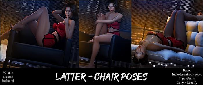 Latter - Chair Poses // Bento