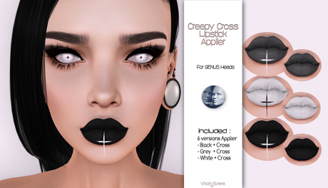 Violybee. Creepy Cross Lipstick (GENUS Applier)