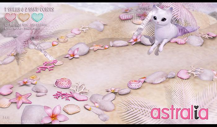 Astralia - Mermaid sand path (fatpack with bonus color)