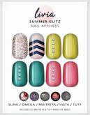 LIVIA Summer Glitz Nails [Slink / Omega / Maitreya / Vista / Tuty]
