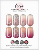 LIVIA Gradient Jewel Nails [Slink / Omega / Maitreya / Vista]