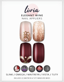 LIVIA Elegant Wine Nails [Slink / Omega / Maitreya / Vista / Tuty]