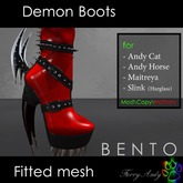 Furry Andy - Demon Boots