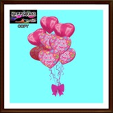 Mother's Day - Balloons Bouquet - Pink