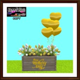Mother's Day - Commemorative Planter - Yellow