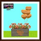 Mother's Day - Commemorative Planter - Orange