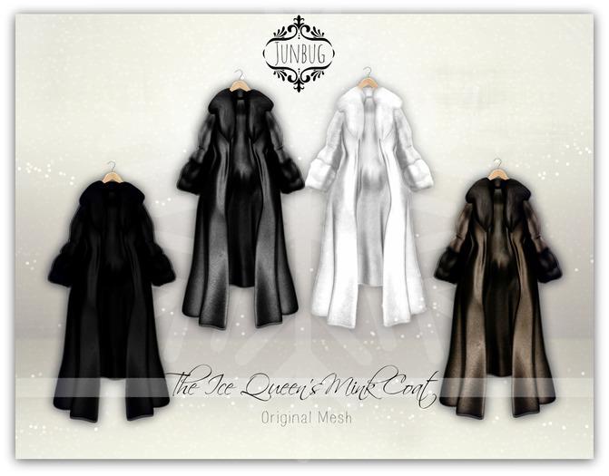 *{Junbug}* The Ice Queen's Mink Coat Fatpack