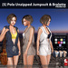 s  pola unzipped jumpsuit   bralette promo ad