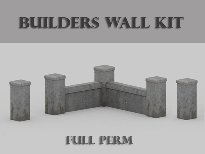 Builders Wall Kit (Concrete)