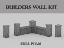 Builders Wall Kit (Concrete)