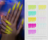 Ascendant - Electrifying Neon Nails Fatpack