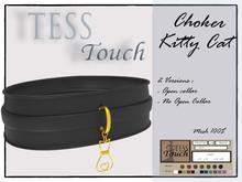 [T.T] TeSs Touch _ BOX _ Choker Kitty Cat