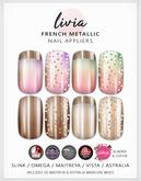 LIVIA French Metallic Nails [Slink / Maitreya / Vista / Omega / Astralia]