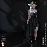 Goth1c0: Steampunk Dress - Black