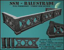 SSM - Balustrade