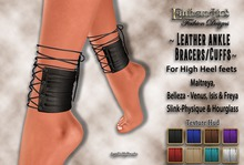 Emberotic's Promotional Offer ~ Leather Ankle Bracers ~ & Texture Hud  Promo