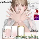 <ooSiki>simple white(wear)