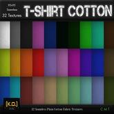 [K.O.] - T-Shirt Cotton - 32 Textures