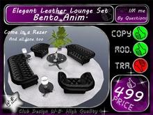 * Top * New Elegant Leather Lounge * Bento Anim. *