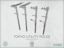Tokyo Utility Poles