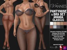 VANNIES Pantyhose & Bra Set Amanda Classic (Belleza, Maitreya, Slink, Omega)