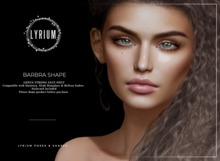 Lyrium. Barbra Shape (Genus Project Strong Head)